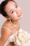 Bride. A Pretty bride.High quality,retouch face and body Stock Photo