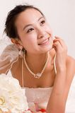 Bride. A Pretty bride.High quality,retouch face and body Stock Photos