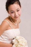 Bride. A Pretty bride.High quality,retouch face and body Royalty Free Stock Photography