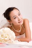 Bride. A Pretty bride.High quality,retouch face and body Stock Photography