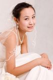 Bride. A Pretty bride.High quality,retouch face and body Royalty Free Stock Photo