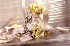 Bride accessories Royalty Free Stock Photo