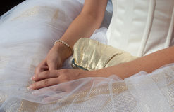 Bride accessories Royalty Free Stock Images