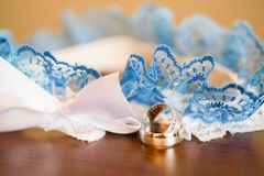 Bride accessories details Royalty Free Stock Photo