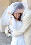 Bride&groom Immagine Stock