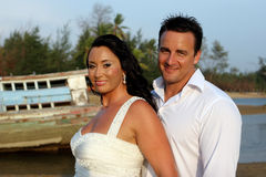 Bride And Groom. Royalty Free Stock Images