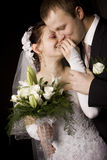 Bride And Groom Portrait Royalty Free Stock Photo