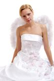 Bride-ange Stock Photo