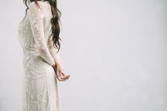 Bride with Arms Crossed Royalty Free Stock Photography