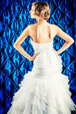 Bride back Royalty Free Stock Photography