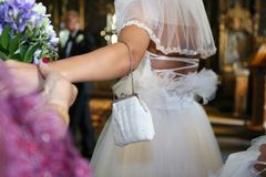 Bride bag Royalty Free Stock Photography