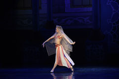 "A bride- ballet ""One Thousand and One Nights"" Stock Image"