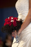 Bride and Bouquet Stock Image