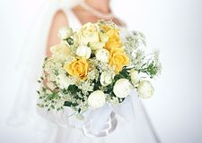 Bride and Bouquet-7 Stock Images