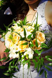 Bride bouquet Stock Images