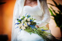 Bride Bouquet Stock Image