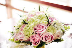 Bride Bouquet Of Flower Stock Photography