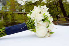 Bride Bouquet at Wedding Royalty Free Stock Photography