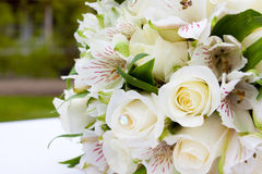Bride Bouquet at Wedding Stock Image