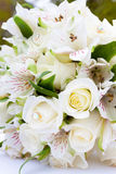 Bride Bouquet at Wedding Stock Photos