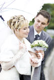 Bride & bridegroom Royalty Free Stock Images