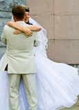 Bride and bridegroom Stock Photos