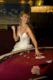 Bride casino Stock Image