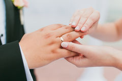 Bride commitment Stock Photography
