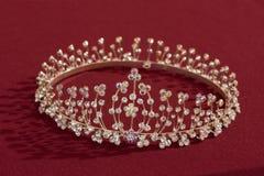 Bride crown diadem Royalty Free Stock Images