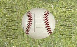 Bride de tournoi de base-ball de 64 équipes Image stock
