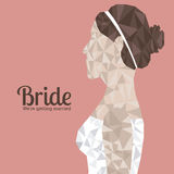 Bride design Stock Images