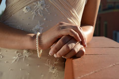Bride details Royalty Free Stock Photography