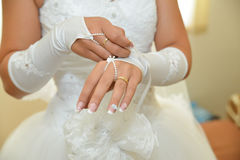 Bride details Royalty Free Stock Image