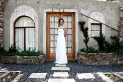 Bride Doorway Stock Image