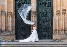 Bride at doorway