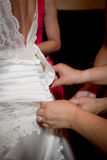 Bride dress Royalty Free Stock Photo