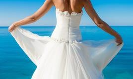Bride dress Royalty Free Stock Image