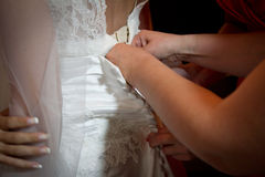 Bride dress Royalty Free Stock Photography
