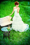 Bride dress Stock Photography