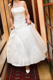 beautiful dress for bride Stock Images