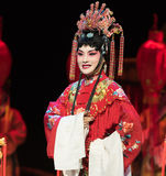 "Bride-The emperor's wedding-Jiangxi opera ""Red pearl"" Royalty Free Stock Photo"