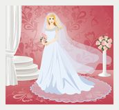 Bride en  Royalty Free Stock Photos