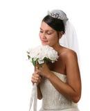Bride Eyes Closed Dreaming Royalty Free Stock Image