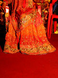 Bride Fashion. The dress of an Indian Bride Stock Images