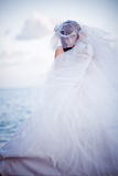 Bride fashion Stock Image