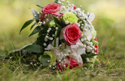 Bride flower bouquet Royalty Free Stock Photo