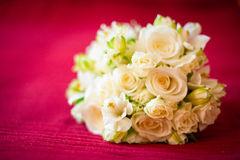 Bride flowers Royalty Free Stock Photography