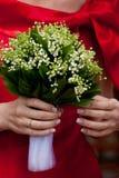 Bride flowers Stock Photo