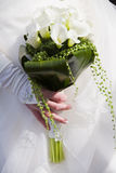 Bride with flowers Royalty Free Stock Image