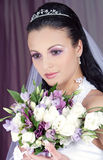Bride flowers Royalty Free Stock Image
